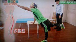 腰痛予防の運動